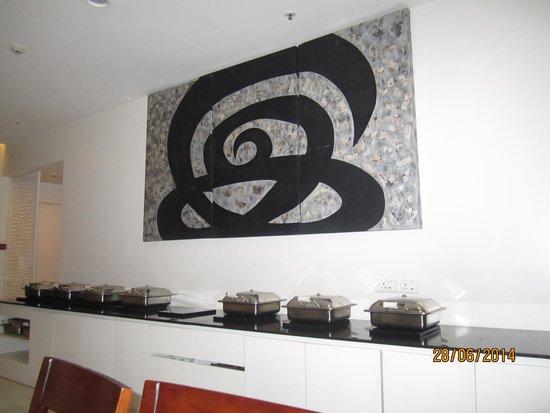 The Fern Residency, Mumbai: Buffet breakfast