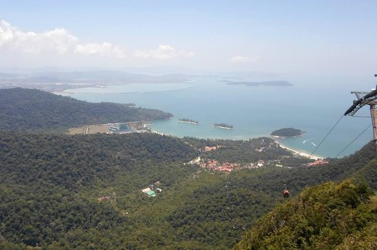 Langkawi Sky Cab: View from the first stop