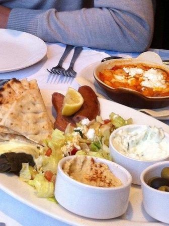 The Brasserie: Sharing platter