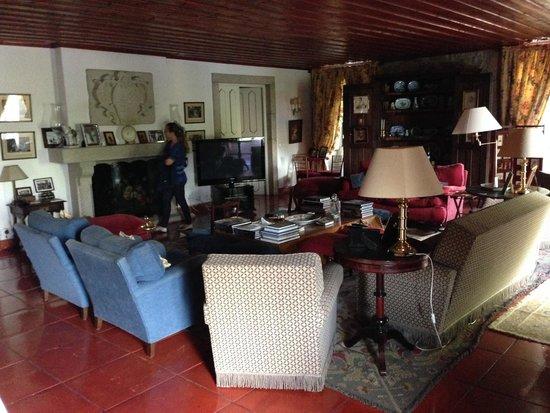 Casa do Cimo: Ambiente acolhedor