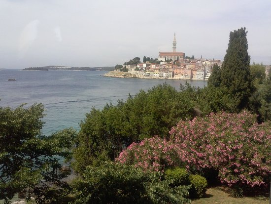Island Hotel Katarina: Vista dal balcone