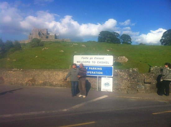 Rock of Cashel near to the entrance