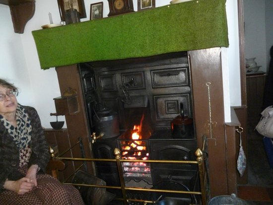 Black Country Living Museum: Inside one of the Houses at Black Country Museum