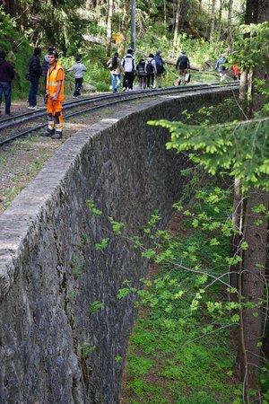 Montenvers - Mer de Glace train: Impressive work form the 1800