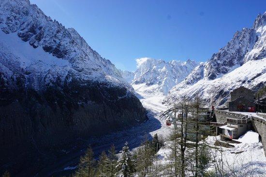 Montenvers Train - La Mer de Glace: The Glacier Valley