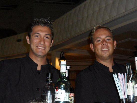 Hotel Riu Palace Tres Islas : Sebastian and Jack - superb waiters