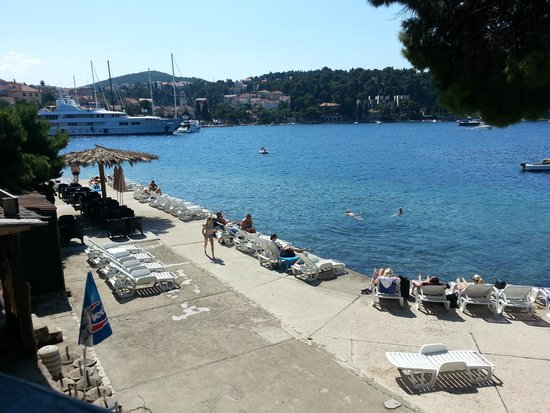 Castelletto : From around the bay  in Cavtat