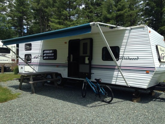Fransted Family Campground : I hate when people don't post better photos of rentals. So there! This is the one and only campe