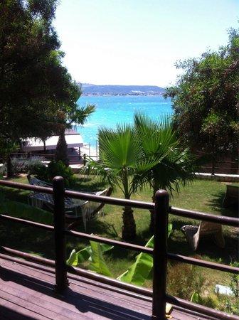 Ceshme Plus Hotel: Odadan manzara