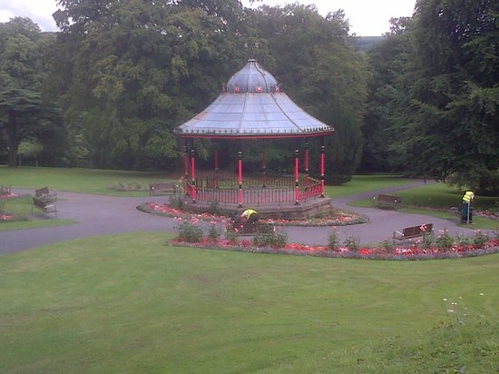 Bedwellty House and Park: Bandstand at Bedwellty Park