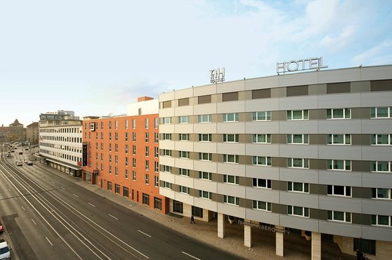 Facade picture of nh collection nurnberg city nuremberg for Nurnberg hotel