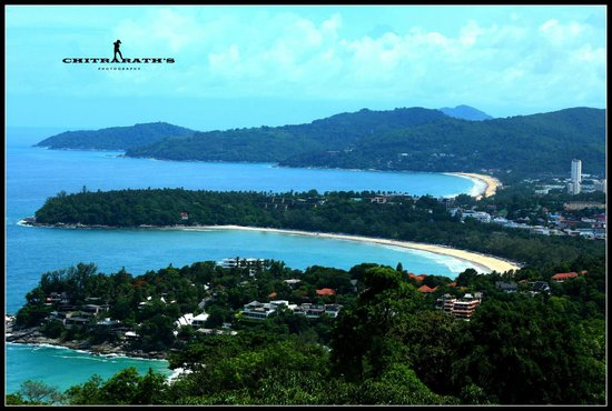 Karon View Point : The view is Amazing ..............