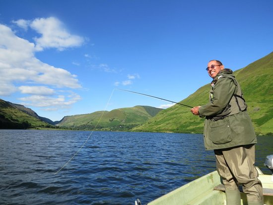 The Old Rectory on the Lake: fly fishing on Tal y Llyn