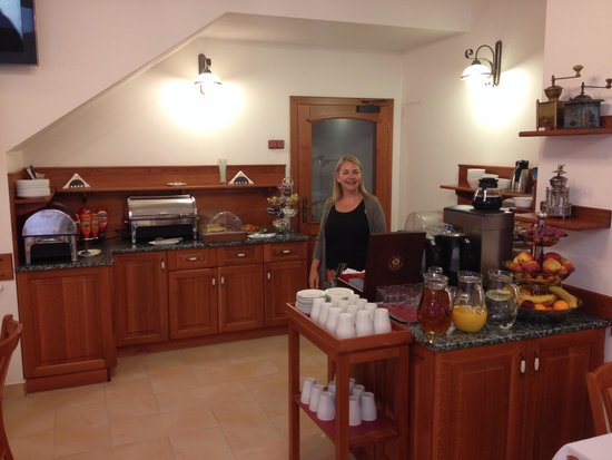 Hotel Pegas Brno: Breakfast Buffet