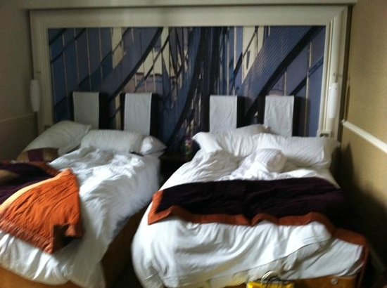 The Midland: 3pm and room not serviced