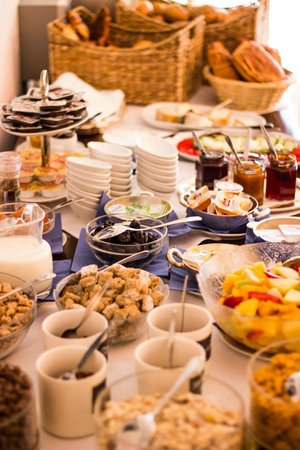 Hotel Prinz Carl: Frühstück
