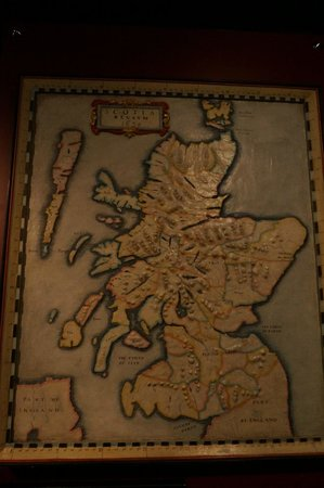 National War Museum of Scotland: Mapas