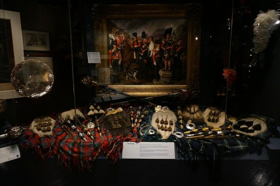 National War Museum of Scotland: Roupas