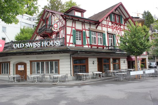 Old Swiss House: The restaurant