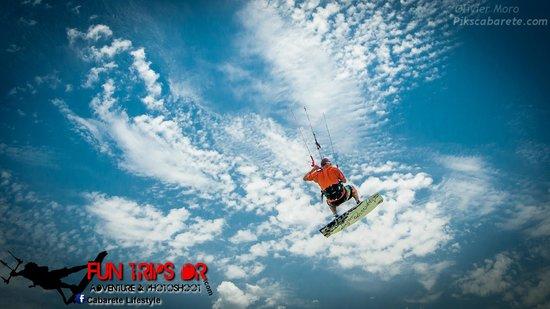Fun Trips Kiteboarding: fly like a bird