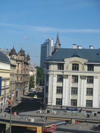 Mercure Riga Centre : Вид из окна субботним утром