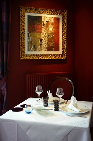 Domaine de Villers : Table du Matisse