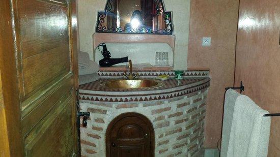 Riad Catalina: baño
