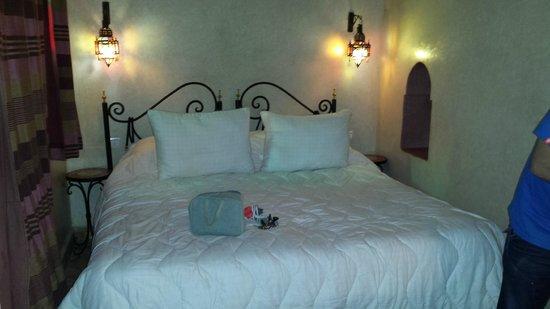 Riad Catalina : cama