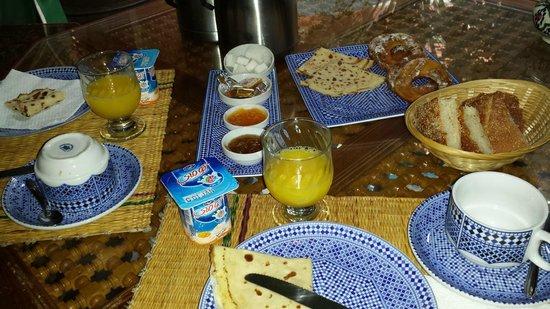 Riad Catalina : desayuno