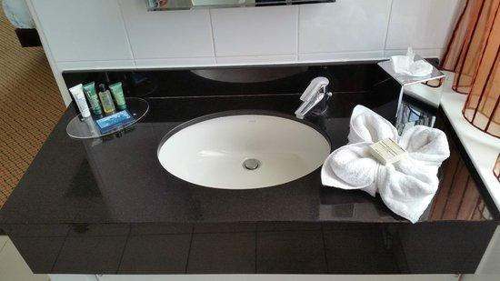 Hilton Brighton Metropole: Lovely bathroom