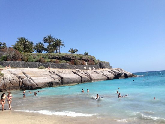 Gran Tacande Wellness & Relax Costa Adeje: Beach near hotel