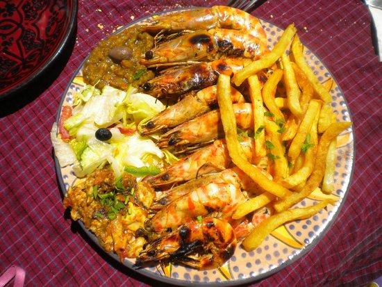 La Lagune : repas très copieux !!!!