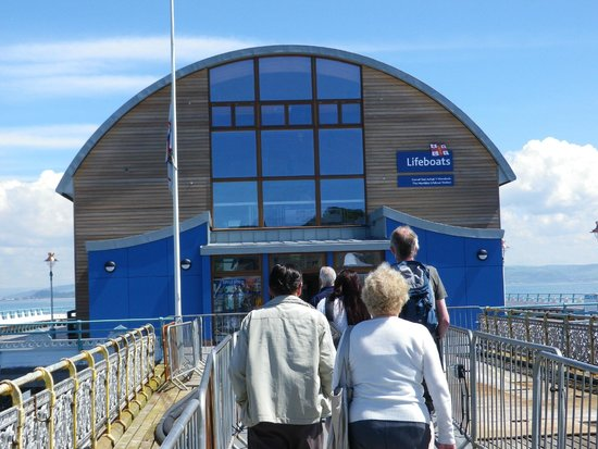 Gower Peninsula: The New Lifeboat Station
