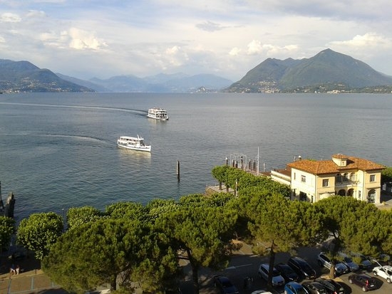 Hotel Milan Speranza Au Lac: view from room604