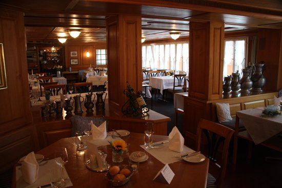 Romantik Hotel Santis: Residents Dinning room