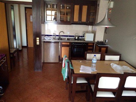 Hotel Paraiso de Albufeira: Apartment kitchen area