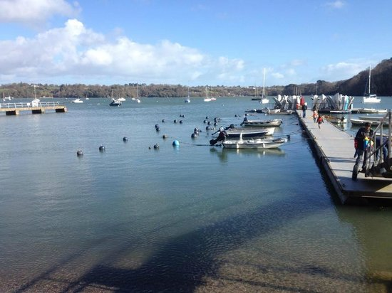 Ferry Boat Inn : The view from the window!