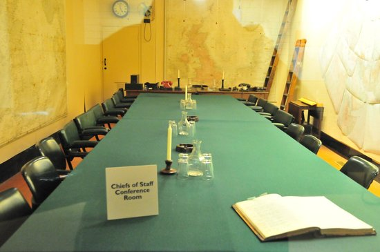 Churchill War Rooms: Chiefs of Staffs Conference Room