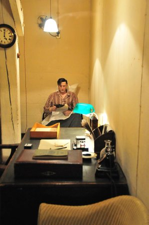 Churchill War Rooms: Sleep and work in tiny space
