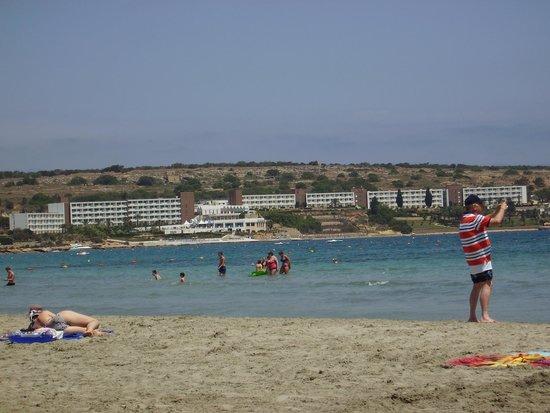Mellieha Beach : Sandy Beach