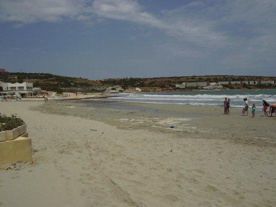 Mellieha Beach : Lovely Beach