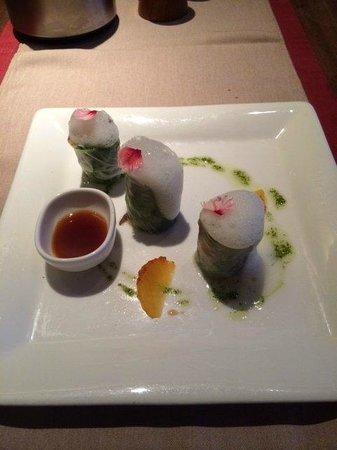 Restaurante Los Roques: Холодная закуска
