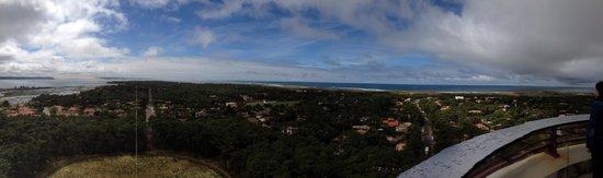 Le Phare du Cap Ferret : Vue panoramique