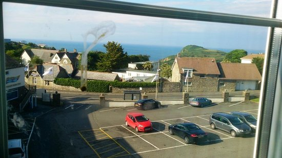 Ilfracombe Holiday Park: View from bedroom window -6T