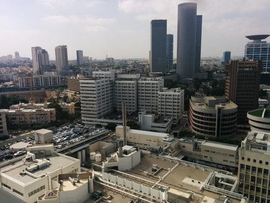 Ramat Gan National Park : Tel Aviv from a bird view