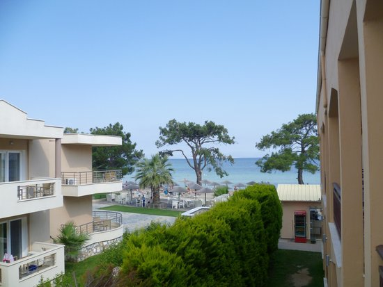 Mediterranean Apartments: View from room 201
