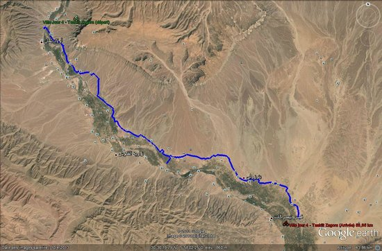 Draa Valley: le parcours