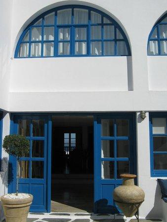 Rochari Hotel : Reception area