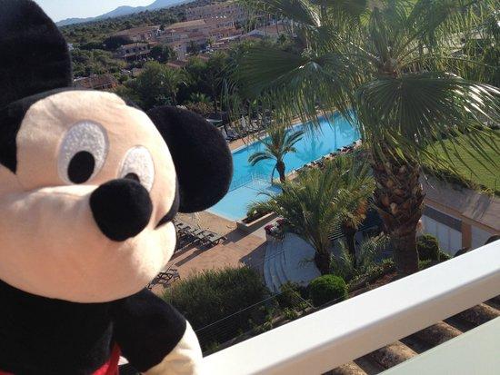 Insotel Cala Mandia Resort & Spa: Vue chambre zone A