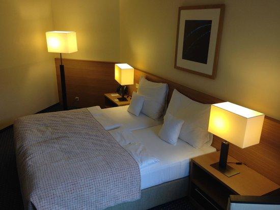 Clarion Congress Hotel Prague: Schlafzimmer